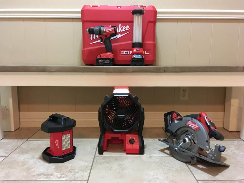 Cordless Tools for Preppers
