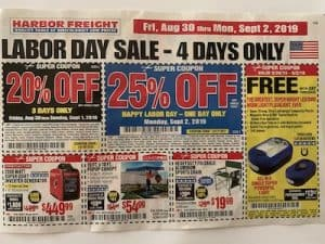 Harbor Freight Coupons Prepper