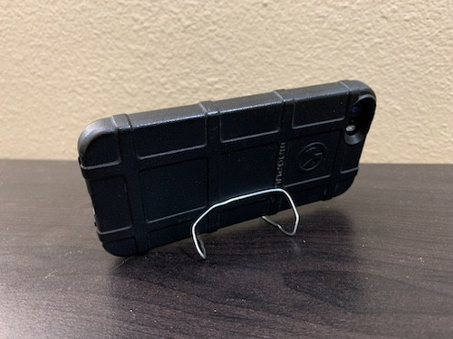 Paper clip cell phone stand