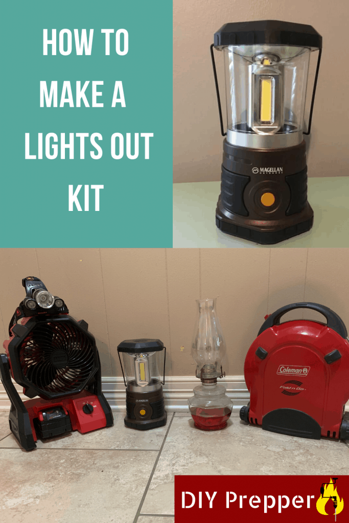 How to make a prepper lights out kit