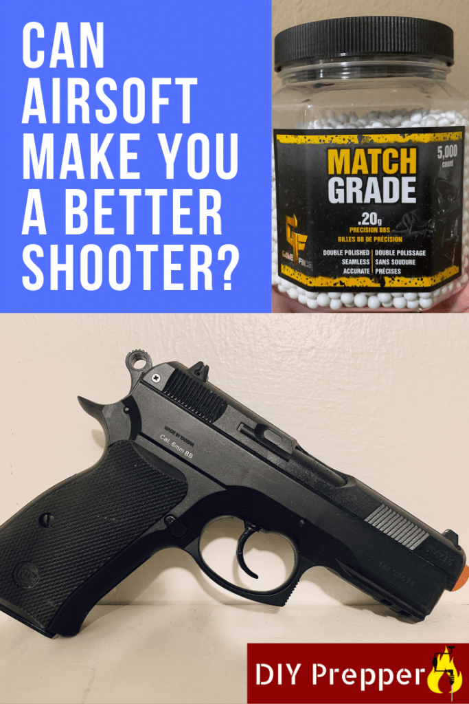 Can airsoft training make you a better shooter?