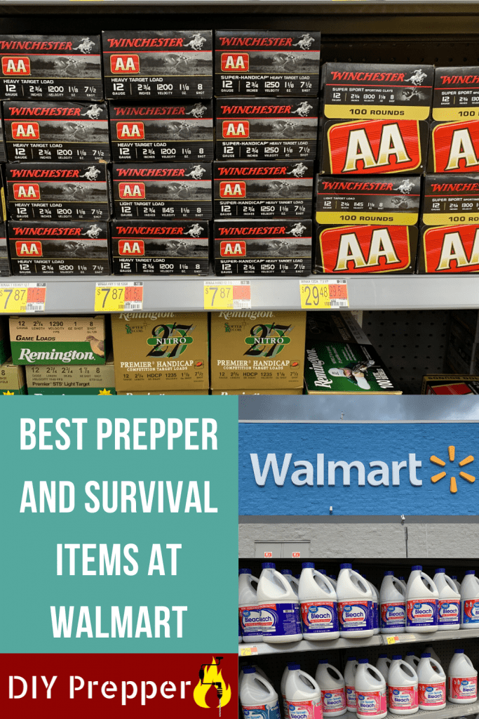 Best Prepper and Survival Items at Walmart