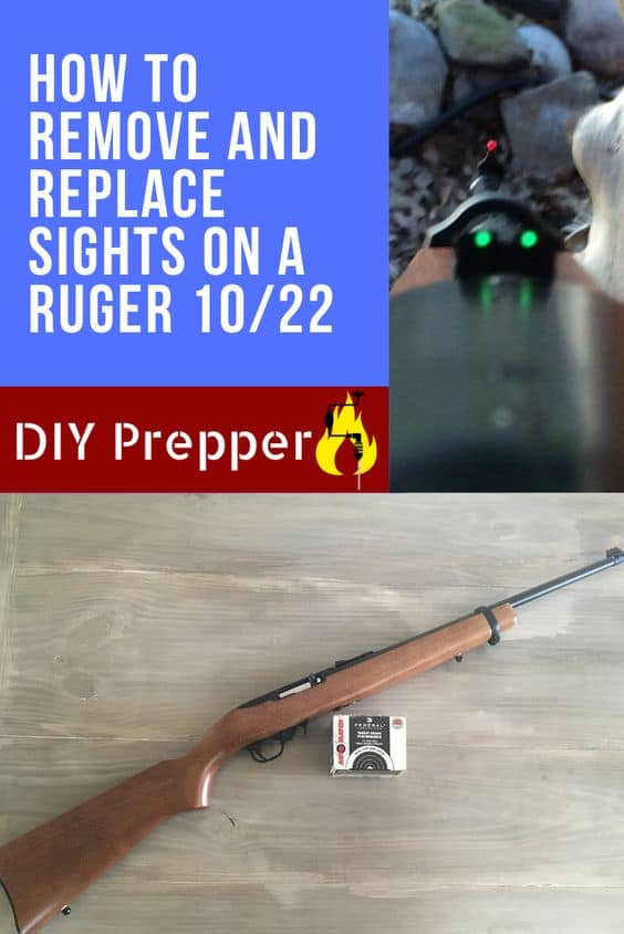 Ruger 10/22 Sight Removal
