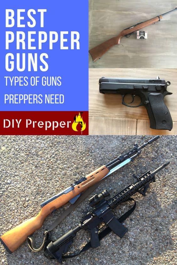 Types of Guns Preppers Need