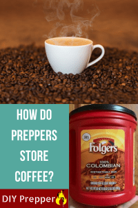 How Do Preppers Store Coffee