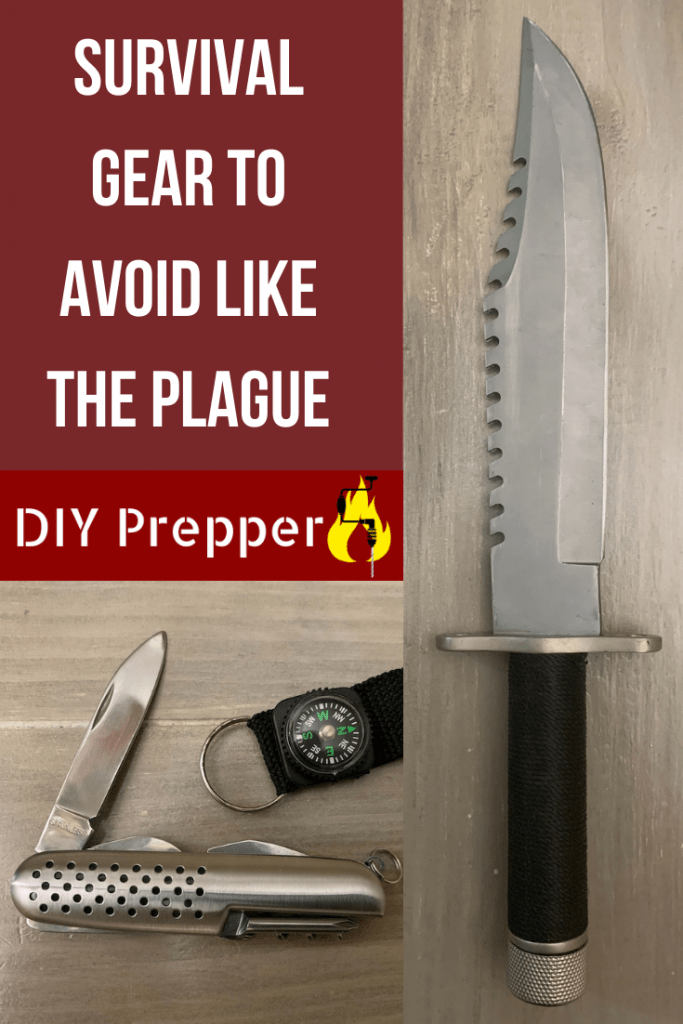 Survival gear to avoid like the plague