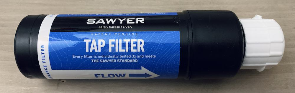 Sawyer TAP filter review